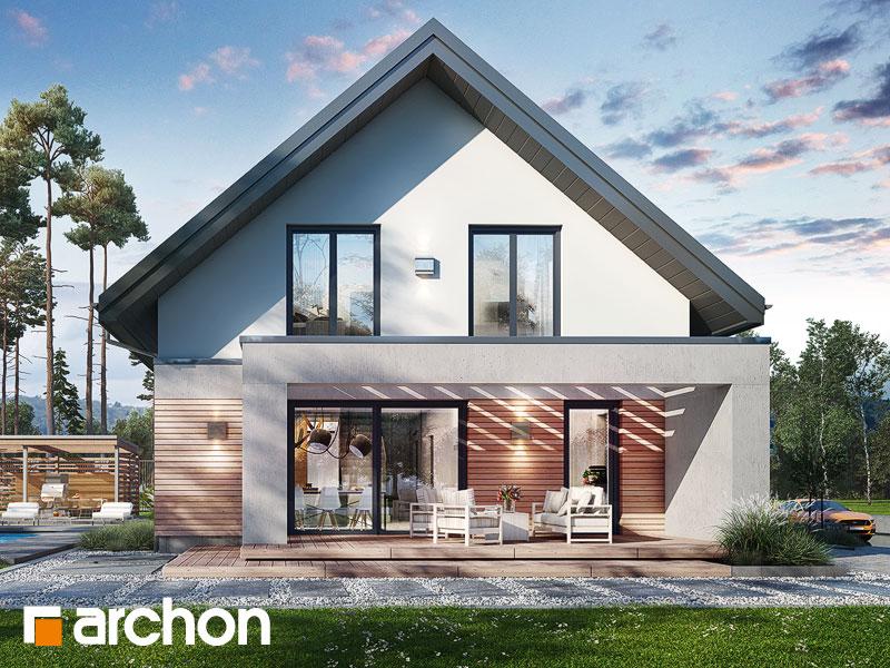 Проект будинку ARCHON+ Будинок в мандевілі 2 Вид 1