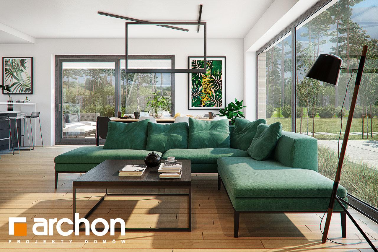 Проект будинку ARCHON+ Будинок в мандевілі 2 денна зона (візуалізація 1 від 2)