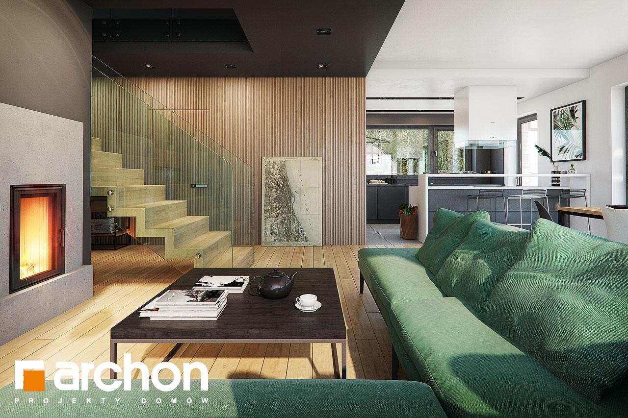 Проект будинку ARCHON+ Будинок в мандевілі 2 денна зона (візуалізація 1 від 3)