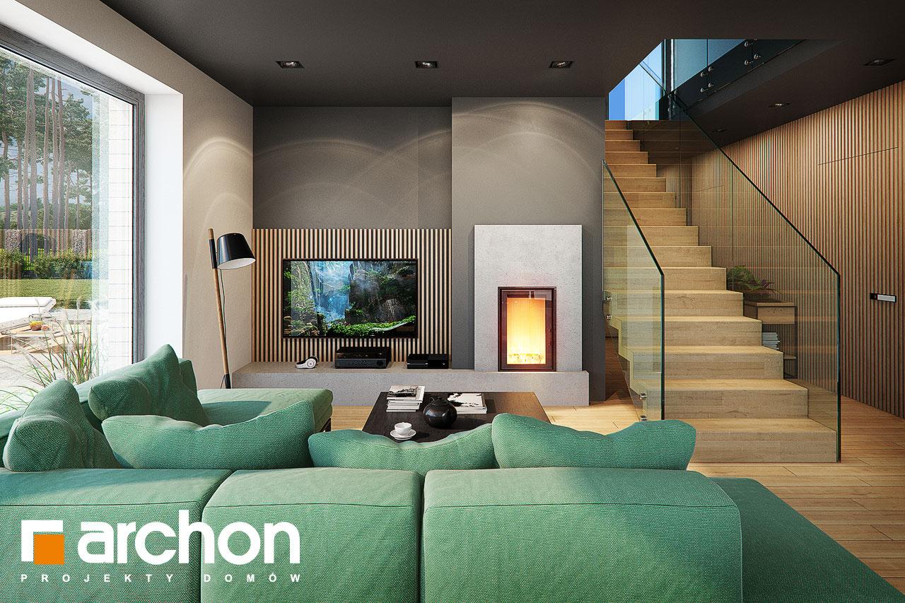 Проект будинку ARCHON+ Будинок в мандевілі 2 денна зона (візуалізація 1 від 4)