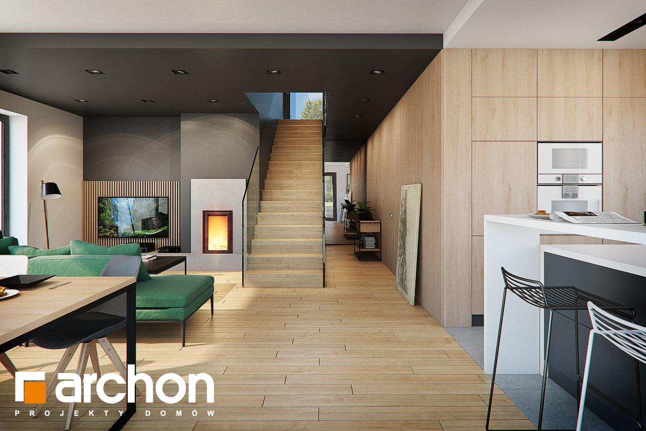 Проект будинку ARCHON+ Будинок в мандевілі 2 денна зона (візуалізація 1 від 6)