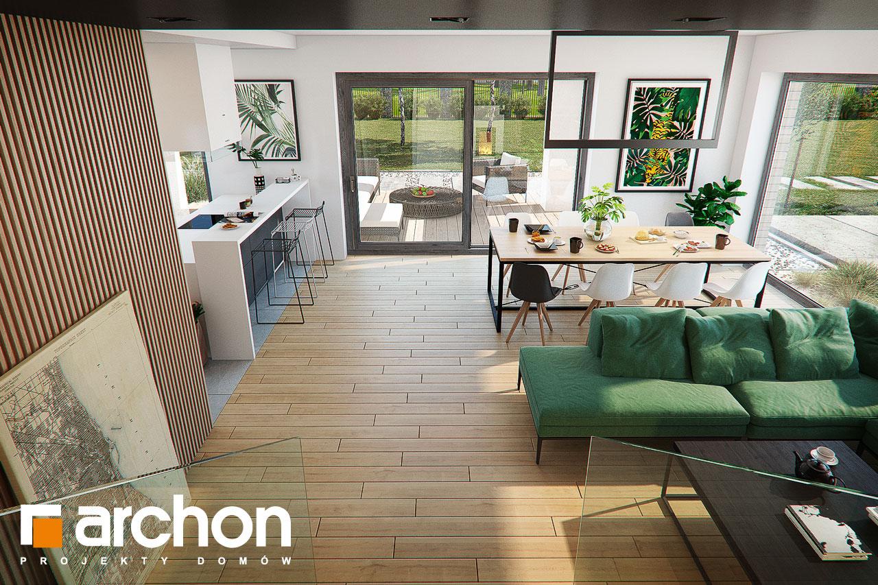 Проект будинку ARCHON+ Будинок в мандевілі 2 денна зона (візуалізація 1 від 7)