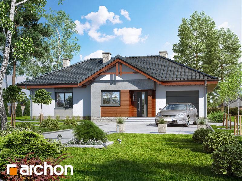Проект будинку ARCHON+ Будинок в нерінах 5 стилізація 3