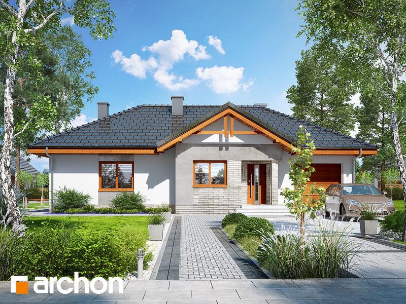 Проект будинку ARCHON+ Будинок в нерінах 5 Вид 1