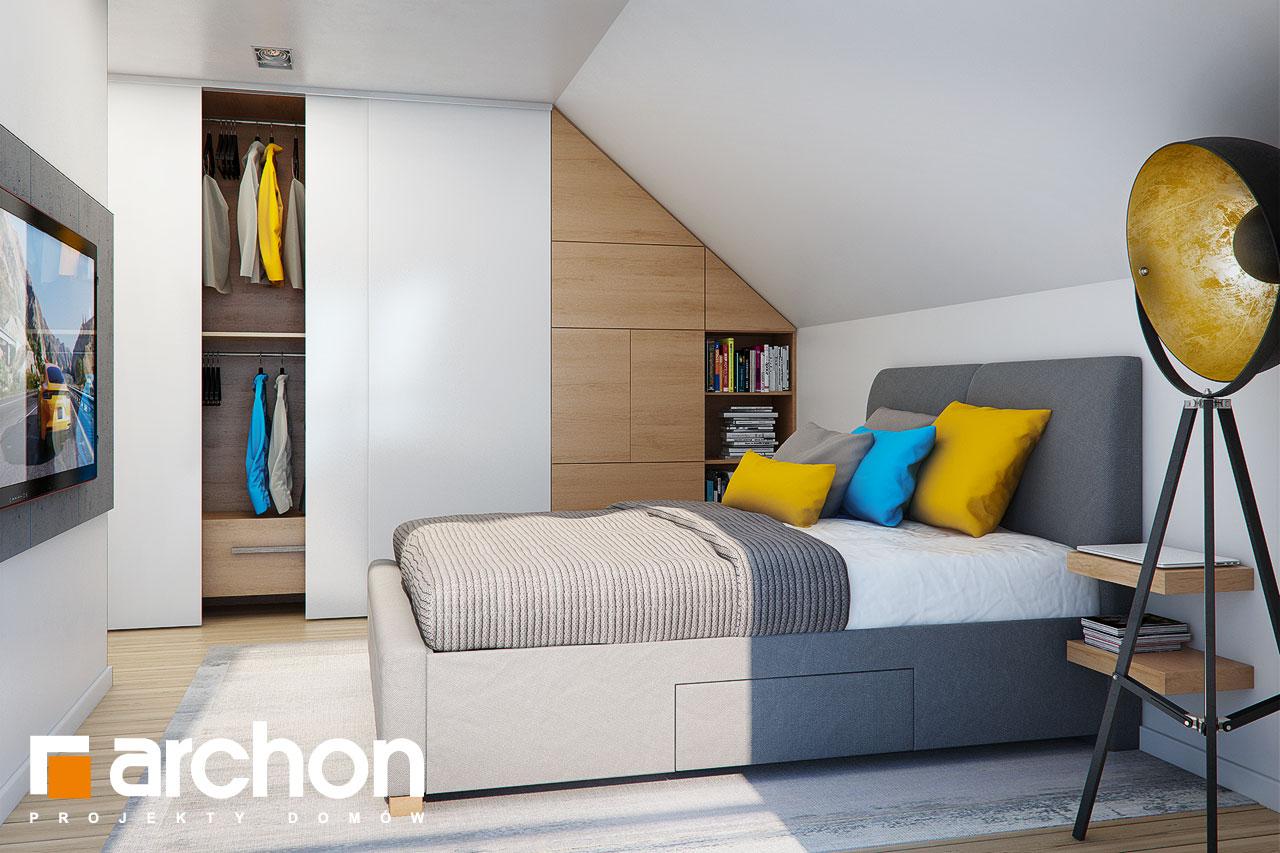 Проект дома ARCHON+ Дом в малиновках (Т) ночная зона (визуализация 1 вид 1)