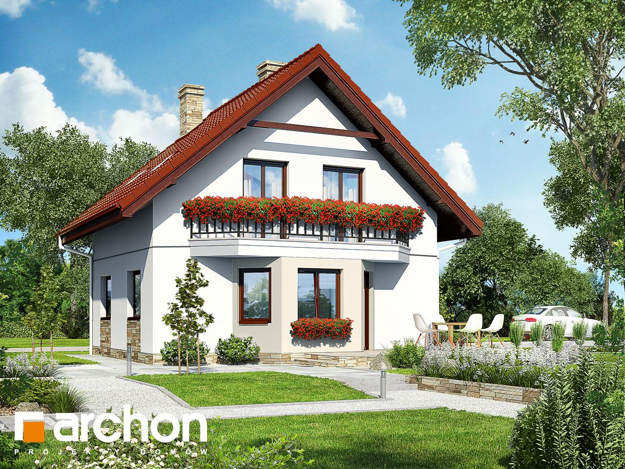 Проект дома ARCHON+ Дом в камах Вид 2