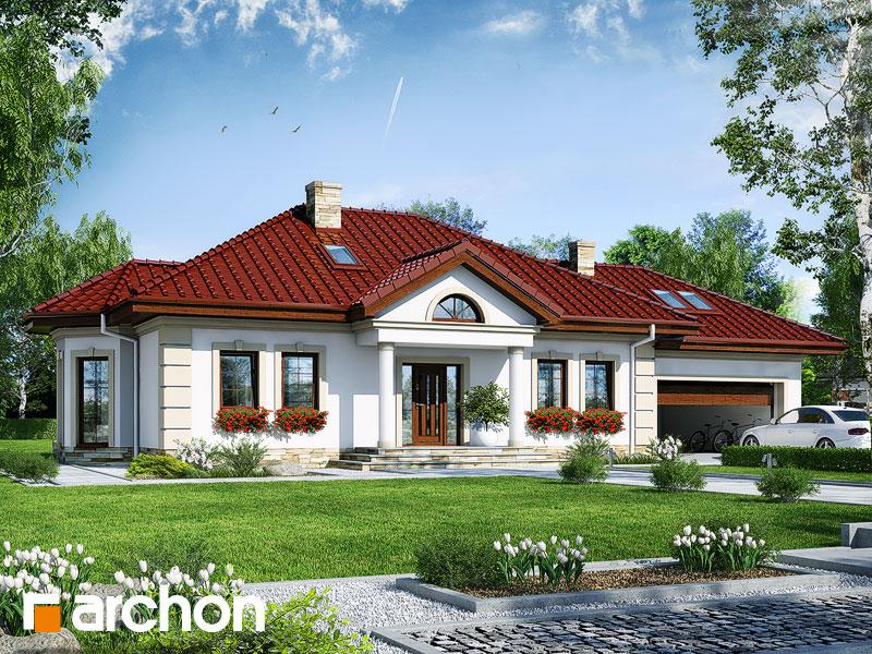 Проект будинку ARCHON+ Будинок в миколайках 2 (Г2) Вид 1