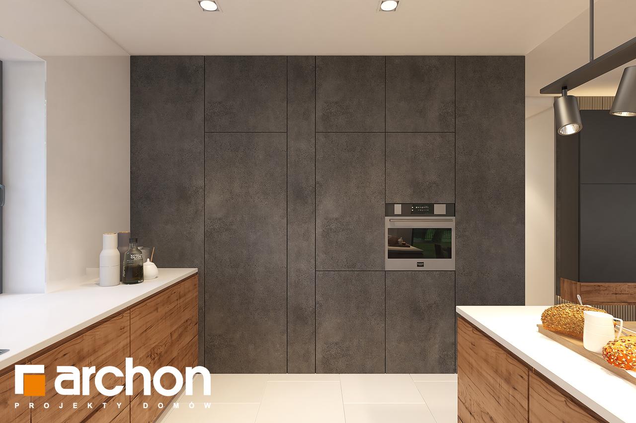 Проект будинку ARCHON+ Будинок в лещиновнику 6 візуалізація кухні 1 від 3