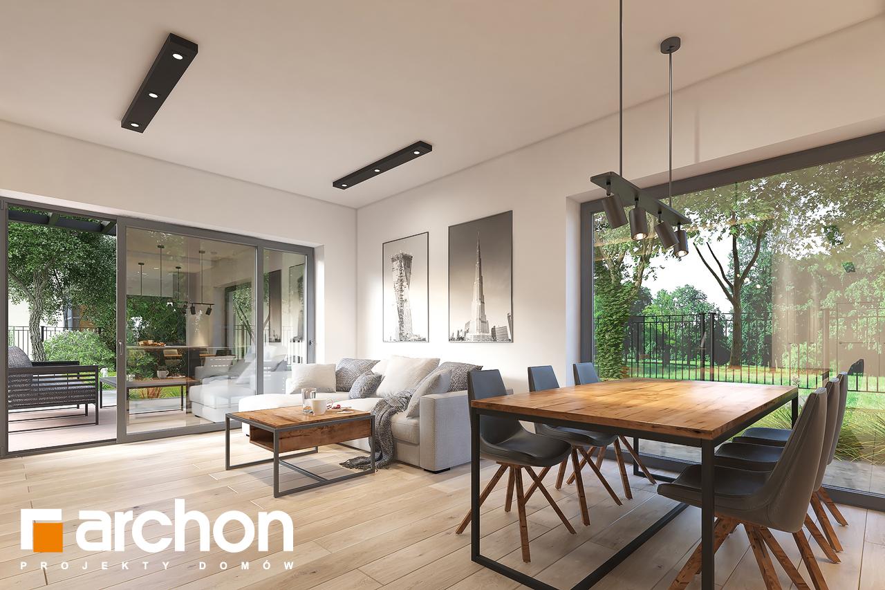 Проект будинку ARCHON+ Будинок в лещиновнику 6 денна зона (візуалізація 1 від 2)
