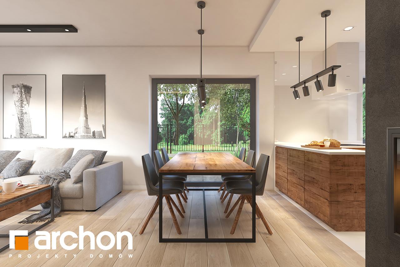 Проект будинку ARCHON+ Будинок в лещиновнику 6 денна зона (візуалізація 1 від 3)