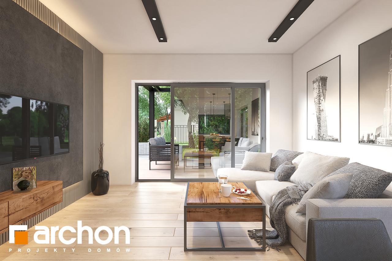 Проект будинку ARCHON+ Будинок в лещиновнику 6 денна зона (візуалізація 1 від 6)