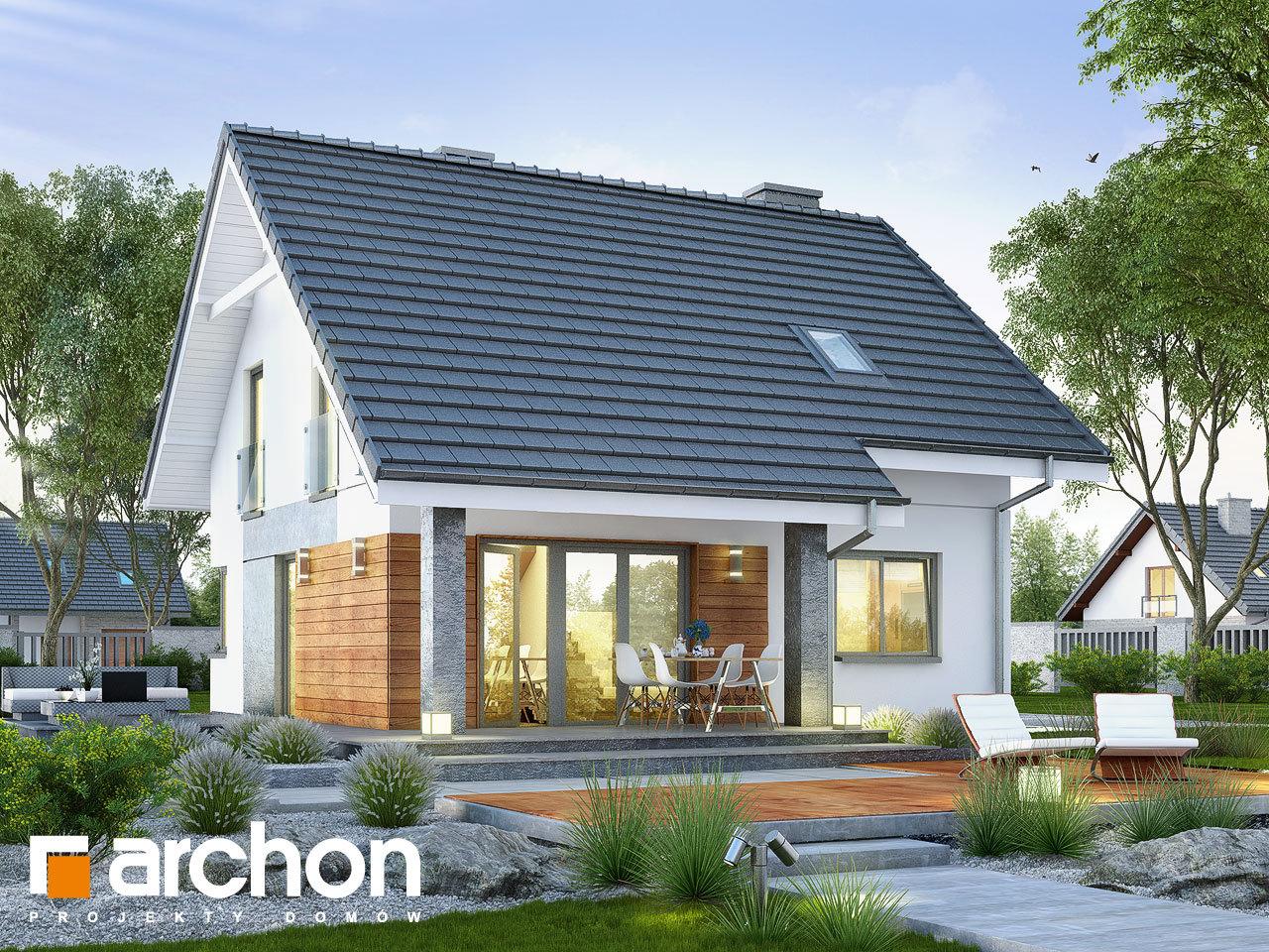 Проект будинку ARCHON+ Будинок в малинівці 2