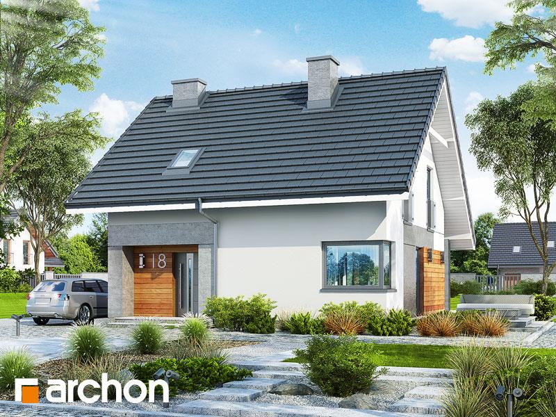 Проект будинку ARCHON+ Будинок в малинівці 2 Вид 1