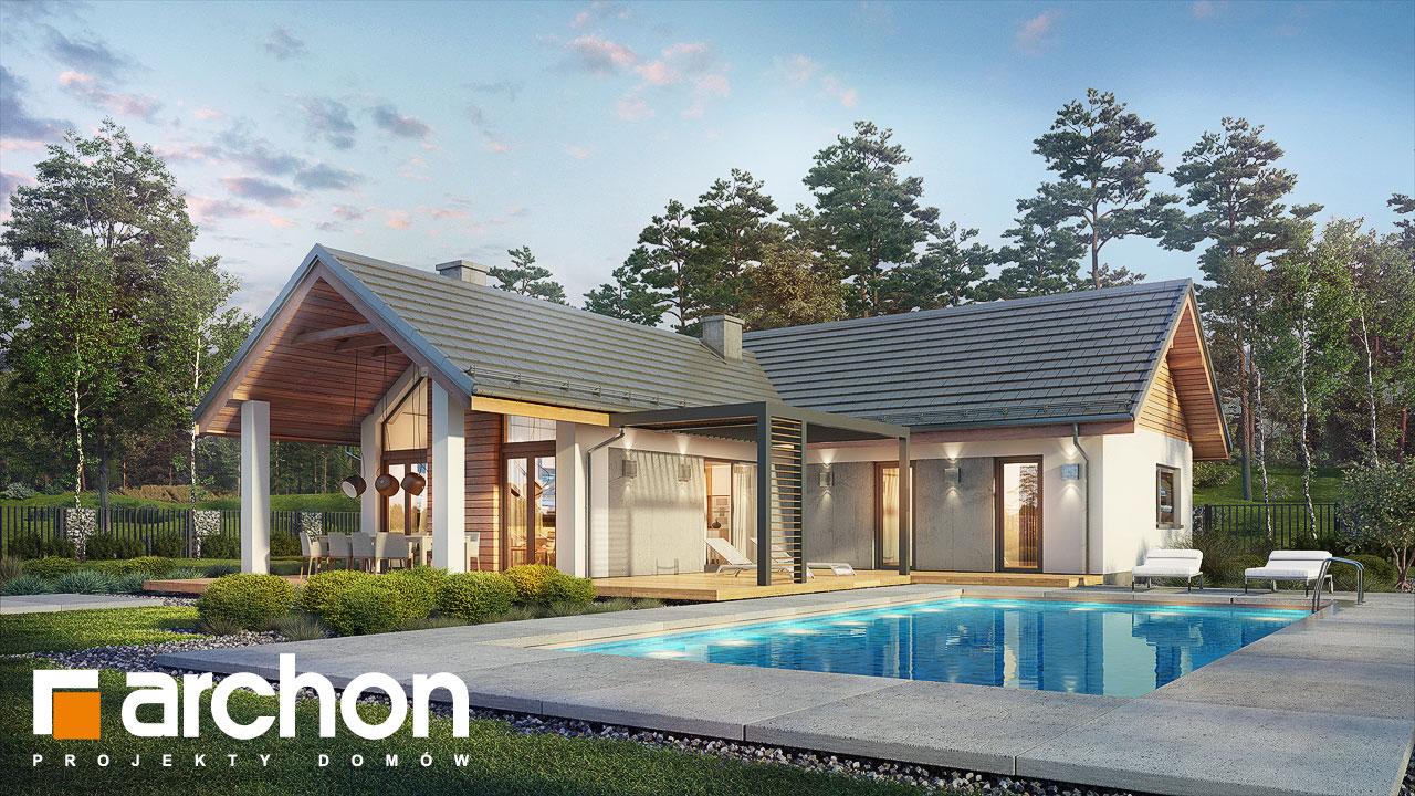 Проект будинку ARCHON+ Будинок в мажанках додаткова візуалізація