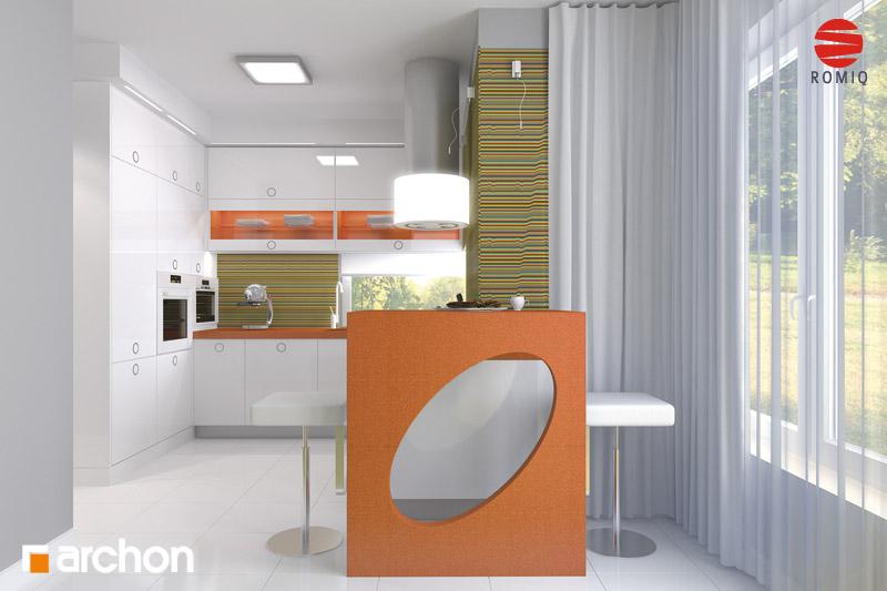 Проект будинку ARCHON+ Будинок в кардамоні 2 аранжування кухні 1 від 1