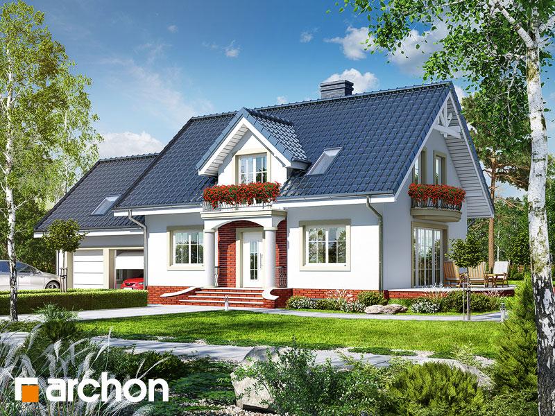 Проект будинку ARCHON+ Будинок в вербені 7 (Г2П) Вид 1