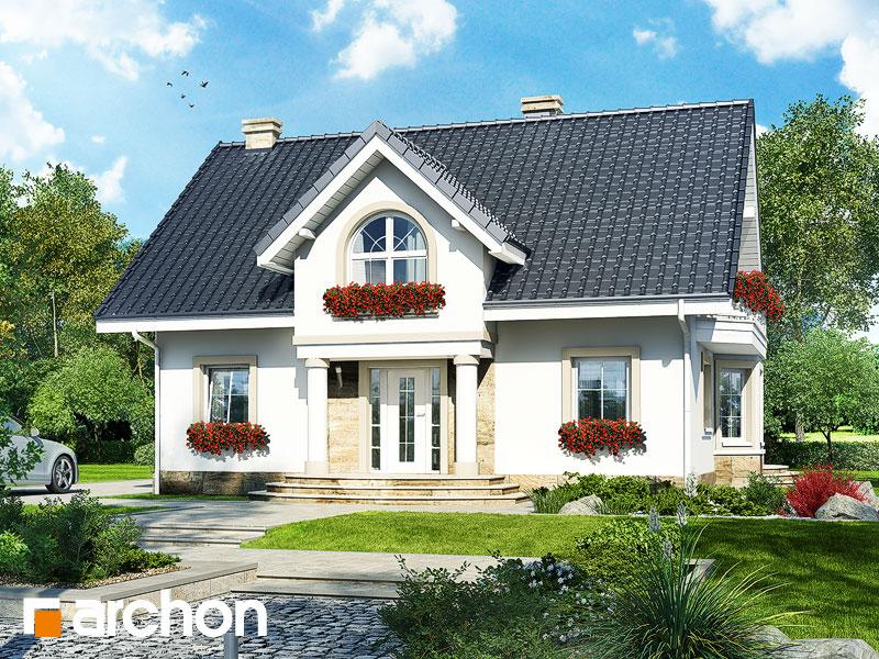 Проект дома ARCHON+ Дом в мирабелле (П) Вид 1