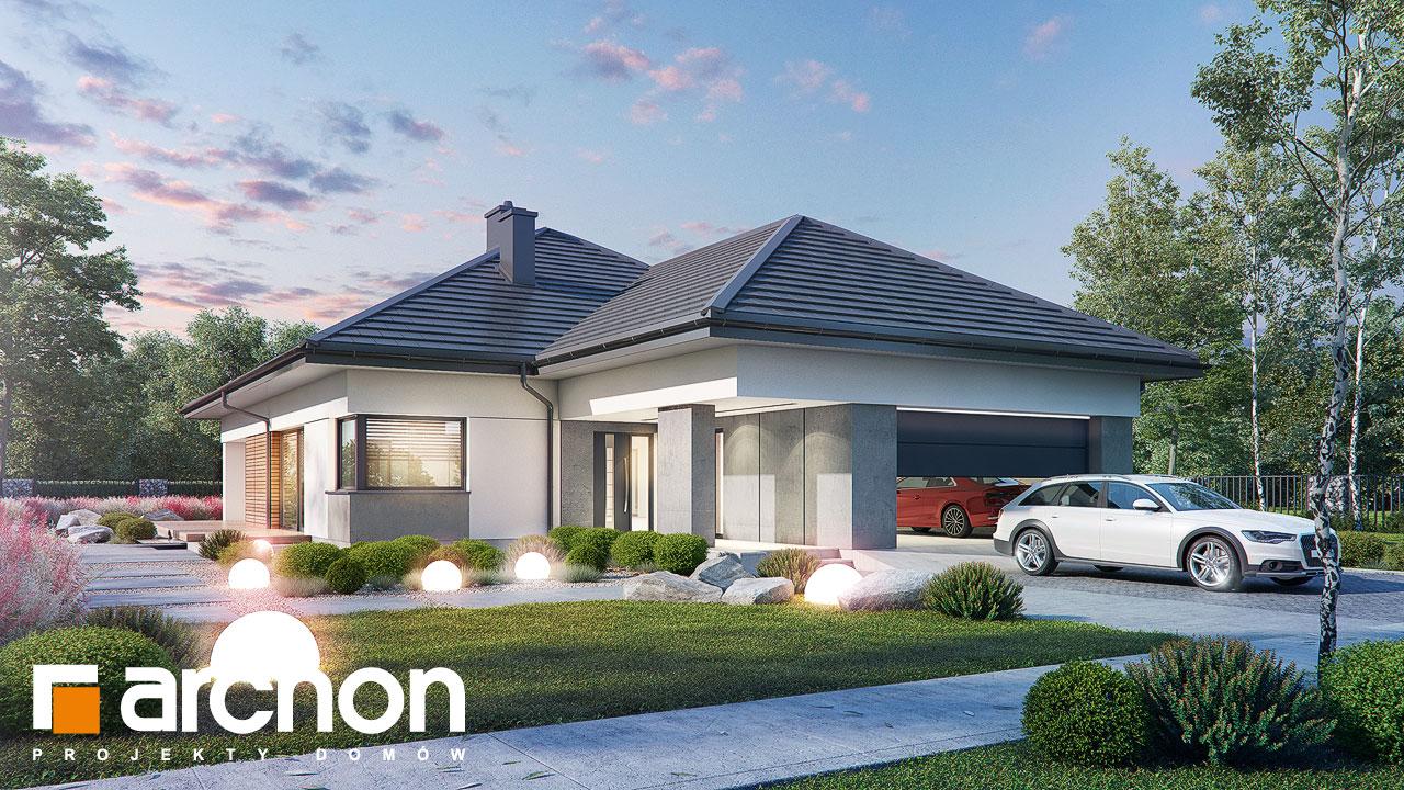 Проект будинку ARCHON+ Будинок в нігеллах 3 (Г2) додаткова візуалізація