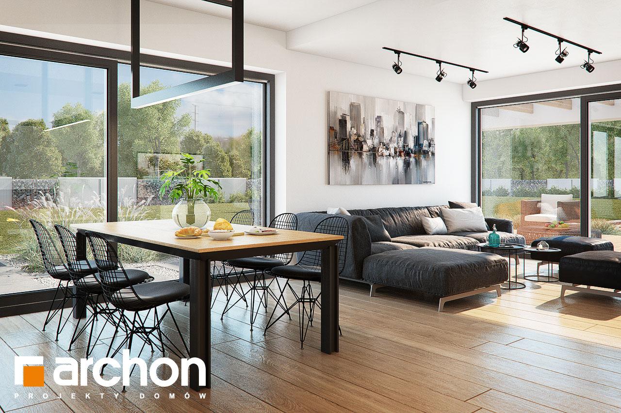 Проект будинку ARCHON+ Будинок в нігеллах 3 (Г2) денна зона (візуалізація 1 від 5)