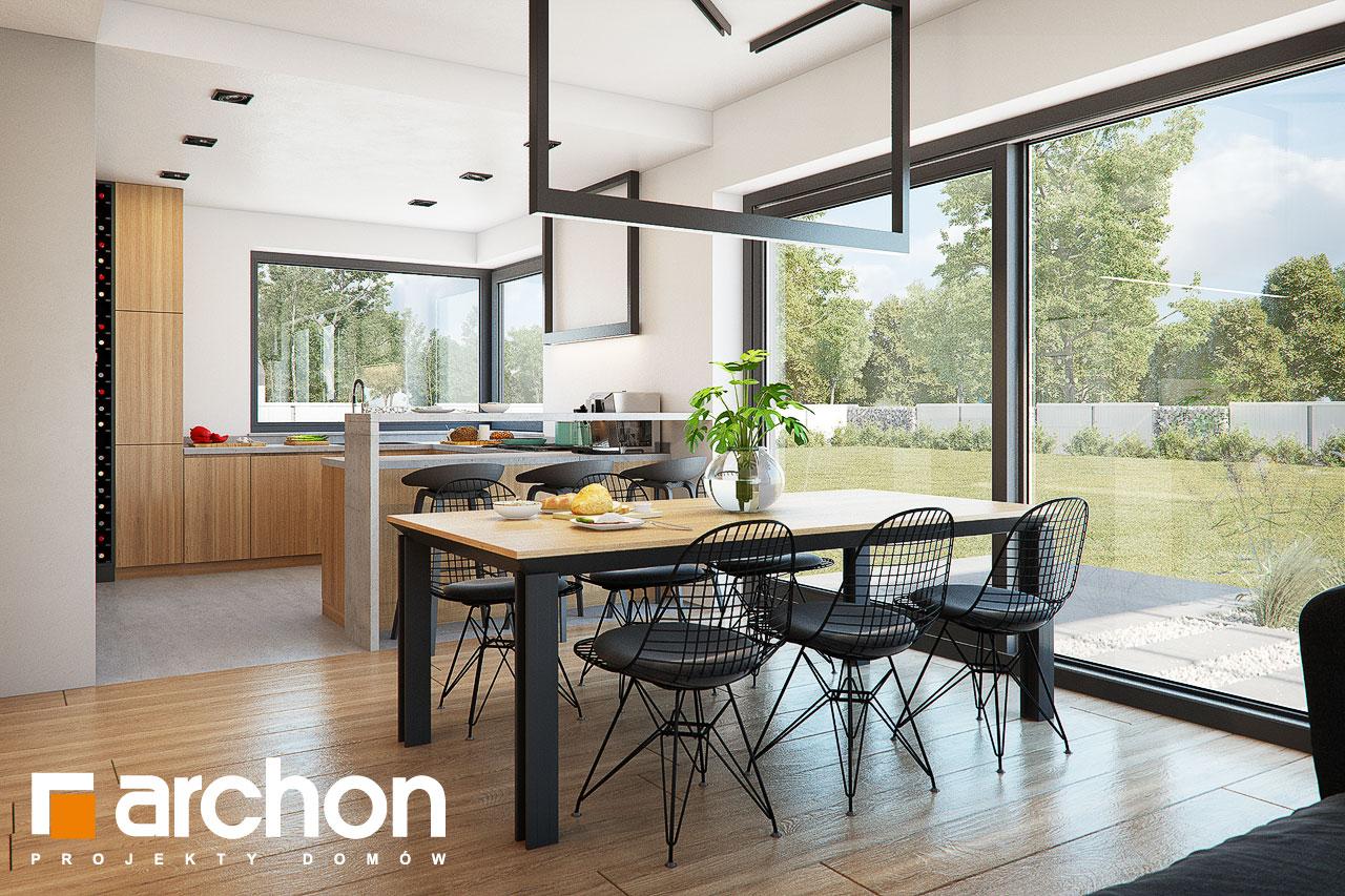 Проект будинку ARCHON+ Будинок в нігеллах 3 (Г2) денна зона (візуалізація 1 від 6)