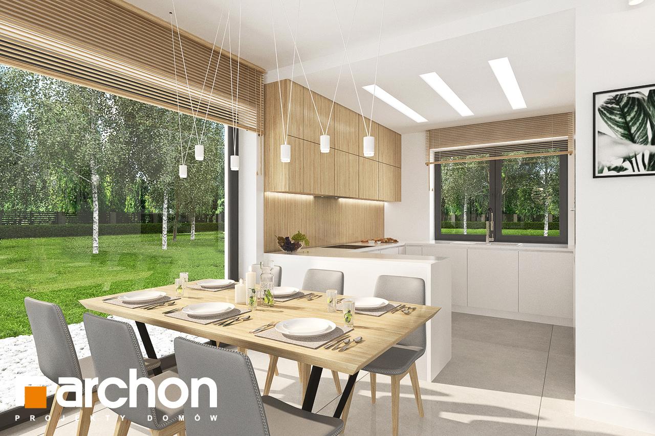 Проект будинку ARCHON+ Будинок у вівсянниці 4 денна зона (візуалізація 1 від 2)