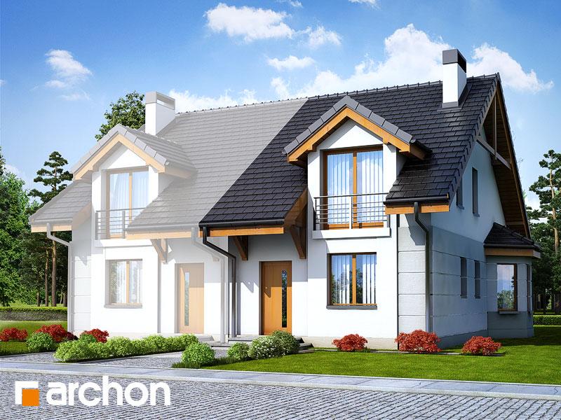 Проект будинку ARCHON+ Будинок під гінко 2 вер.2 Вид 1