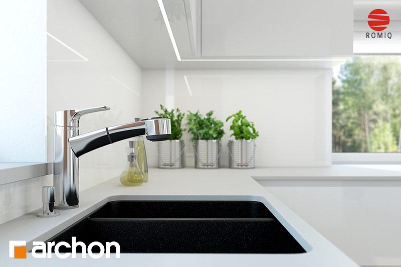 Проект будинку ARCHON+ Будинок в нектаринах 2 (П) вер.2 візуалізація кухні 1 від 3