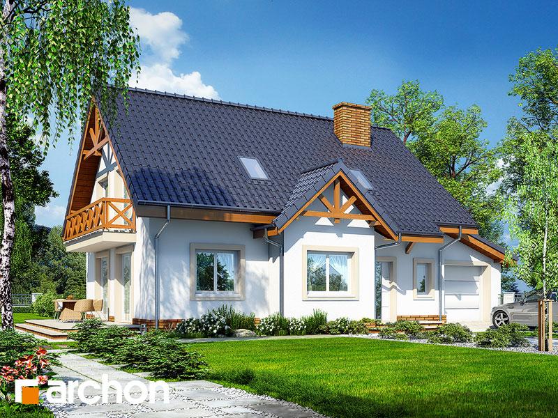 Проект будинку ARCHON+ Будинок в горошку 2 ver.3 Вид 1