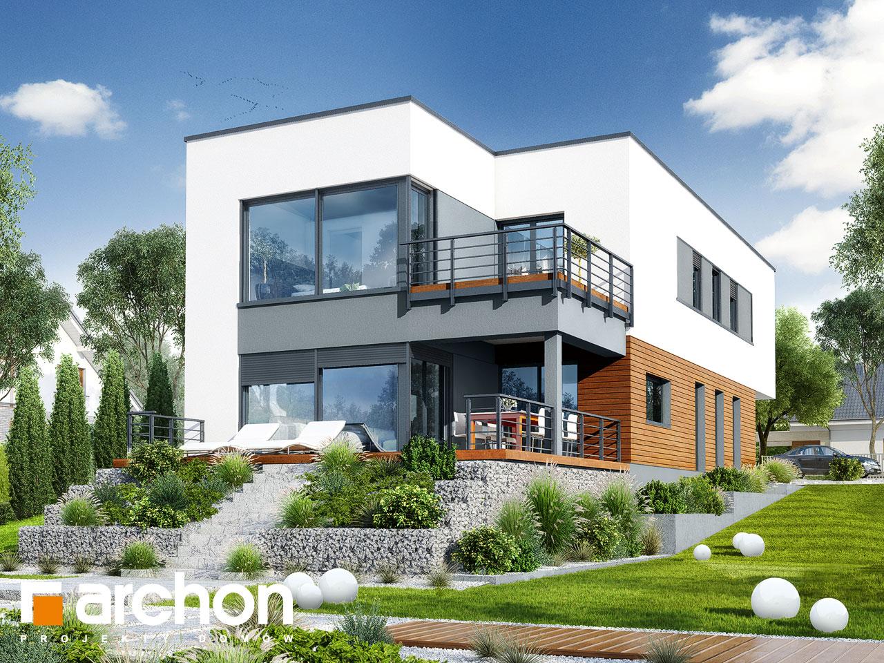 Проект дома ARCHON+ Дом в топинамбурах (Г2А) додаткова візуалізація