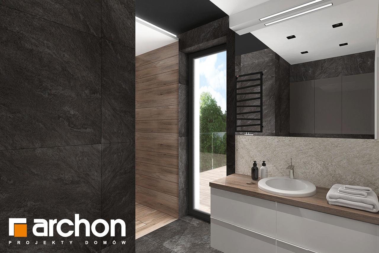 Проект будинку ARCHON+ Будинок в топінамбурах (Г2А) візуалізація ванни (візуалізація 3 від 5)