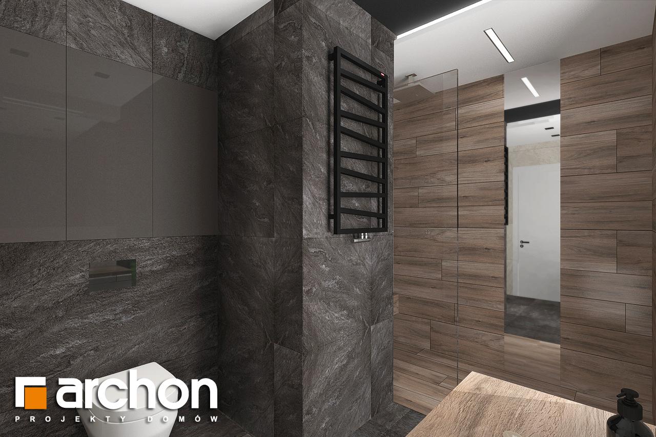 Проект будинку ARCHON+ Будинок в топінамбурах (Г2А) візуалізація ванни (візуалізація 3 від 6)