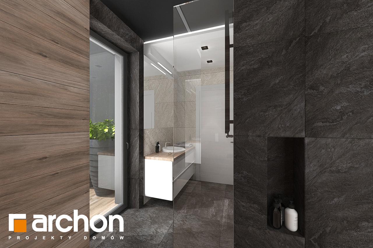 Проект будинку ARCHON+ Будинок в топінамбурах (Г2А) візуалізація ванни (візуалізація 3 від 7)