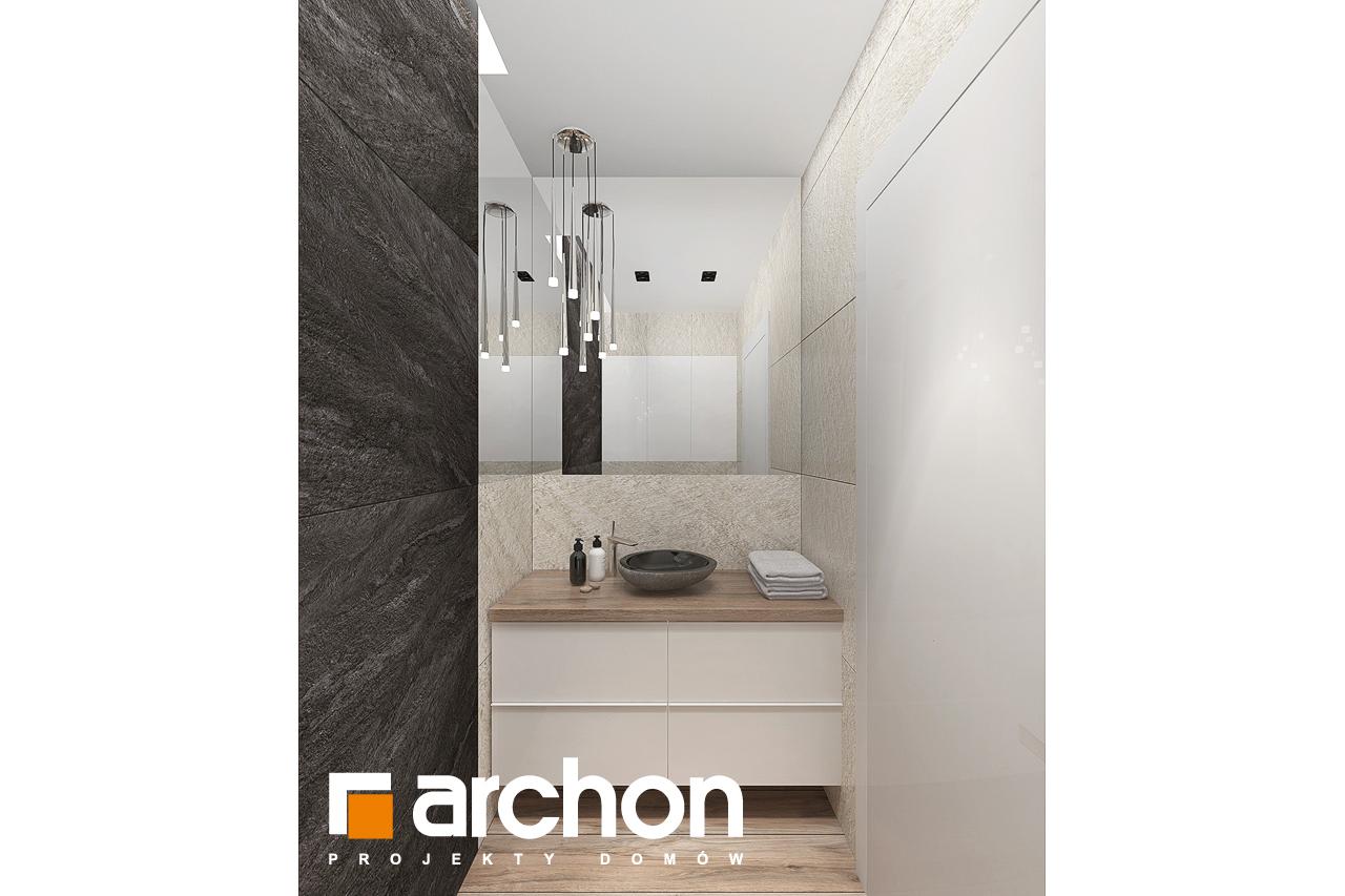 Проект будинку ARCHON+ Будинок в топінамбурах (Г2А) візуалізація ванни (візуалізація 3 від 8)