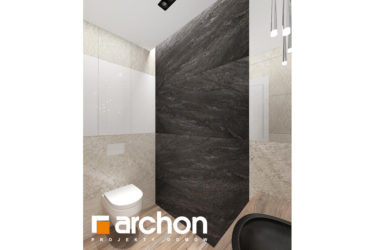 Проект будинку ARCHON+ Будинок в топінамбурах (Г2А) візуалізація ванни (візуалізація 3 від 9)