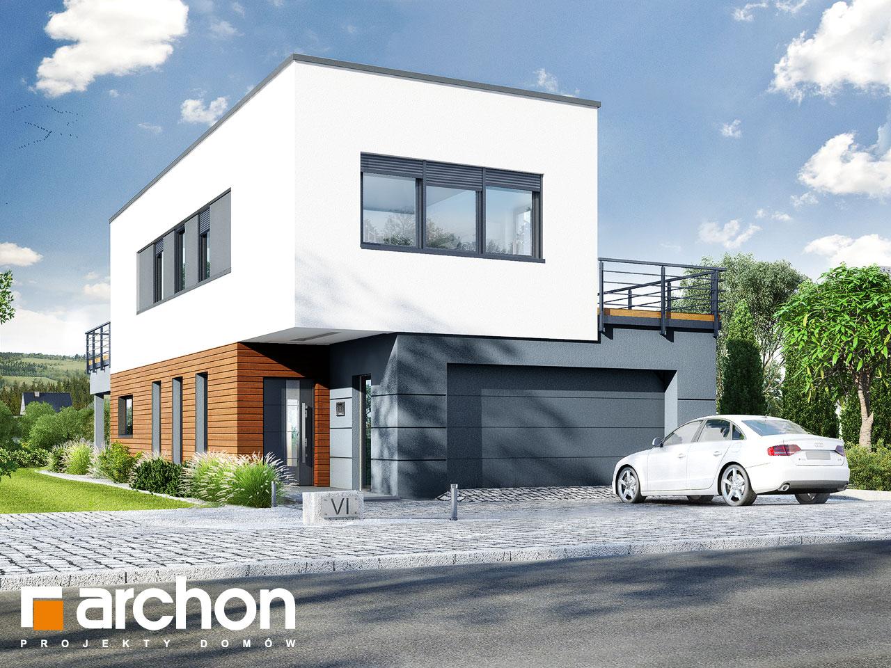 Проект будинку ARCHON+ Будинок в топінамбурах (Г2А) Вид 2