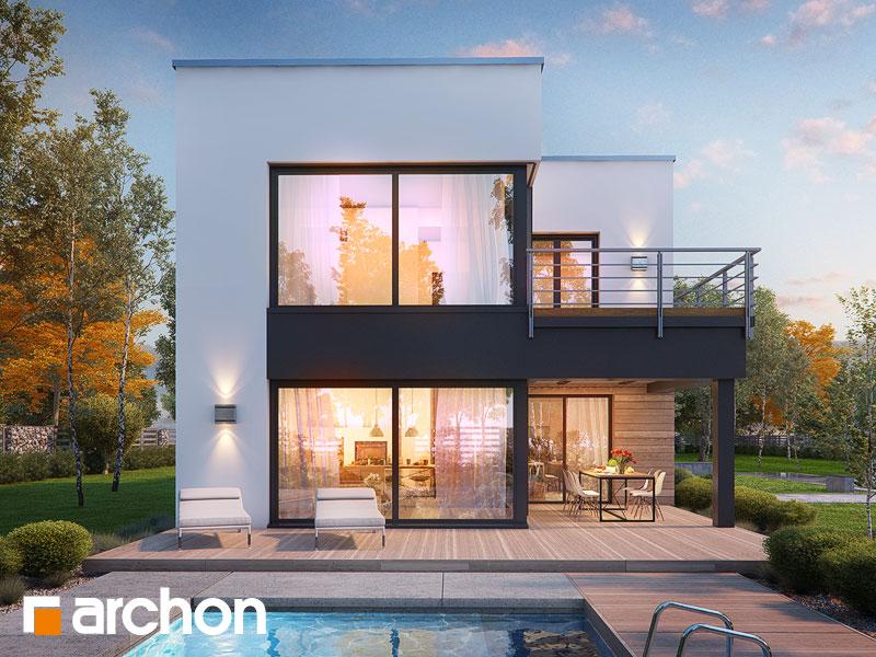 Проект дома ARCHON+ Дом в топинамбурах (Г2А) Вид 1