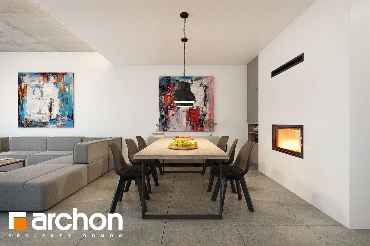 Проект будинку ARCHON+ Будинок в топінамбурах (Г2А) денна зона (візуалізація 1 від 5)