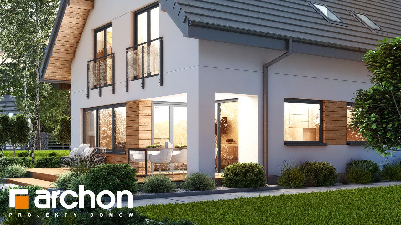 Проект будинку ARCHON+ Будинок в купині 2 (Г2) додаткова візуалізація
