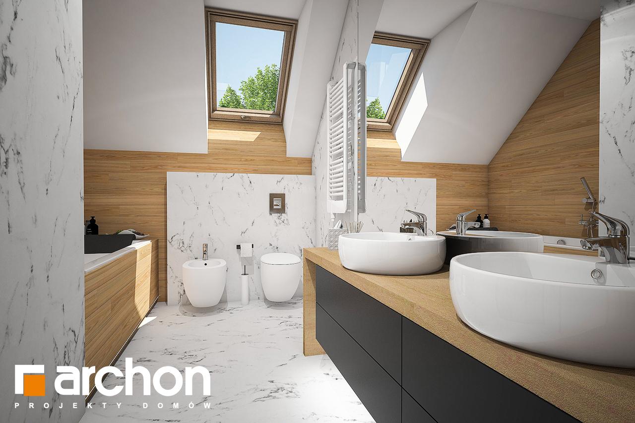 Проект будинку ARCHON+ Будинок в купині 2 (Г2) візуалізація ванни (візуалізація 3 від 1)