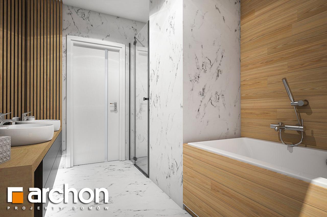 Проект будинку ARCHON+ Будинок в купині 2 (Г2) візуалізація ванни (візуалізація 3 від 3)