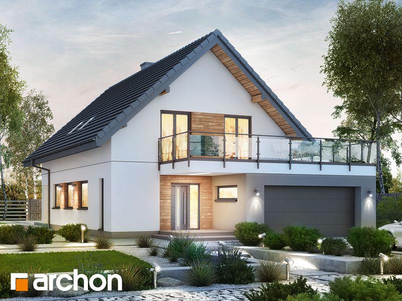 Проект будинку ARCHON+ Будинок в купині 2 (Г2) Вид 1