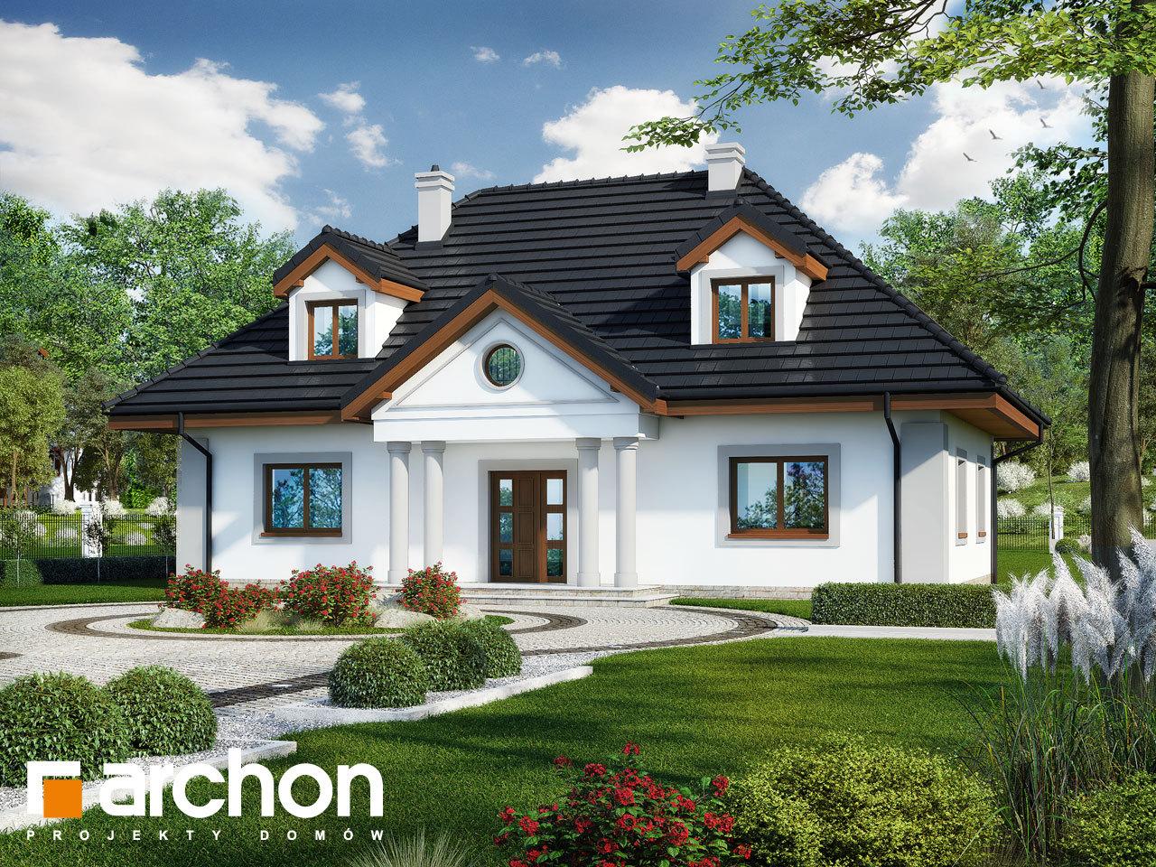 Проект будинку ARCHON+ Будинок в айстрах вер.2