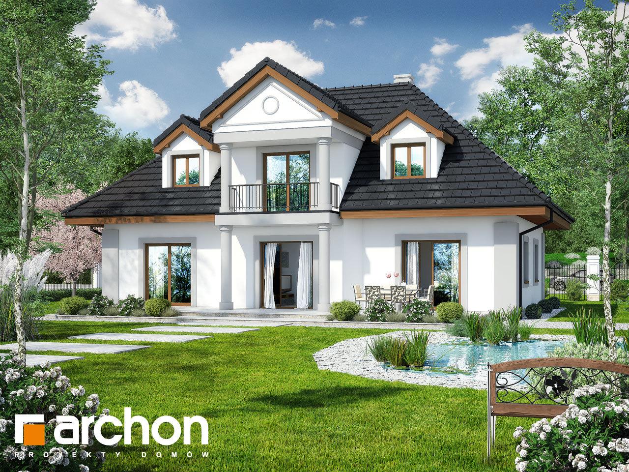 Проект дома ARCHON+ Дом в астрах вер.2