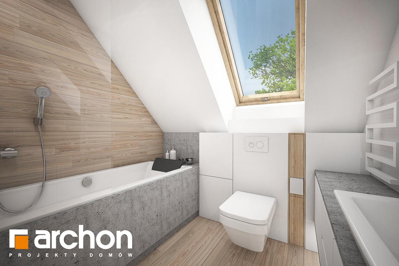 Проект будинку ARCHON+ Будинок в сон-траві (А) візуалізація ванни (візуалізація 3 від 1)