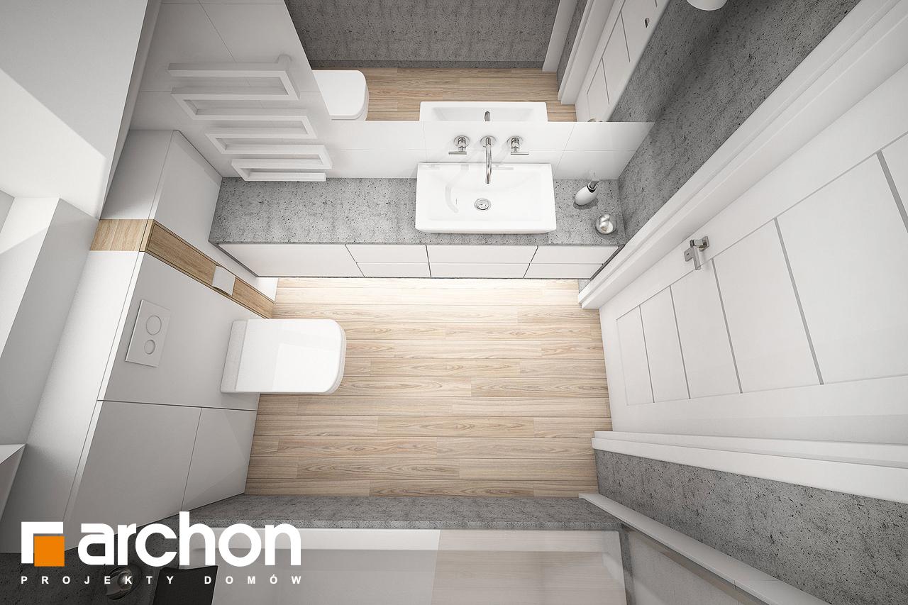 Проект будинку ARCHON+ Будинок в сон-траві (А) візуалізація ванни (візуалізація 3 від 4)