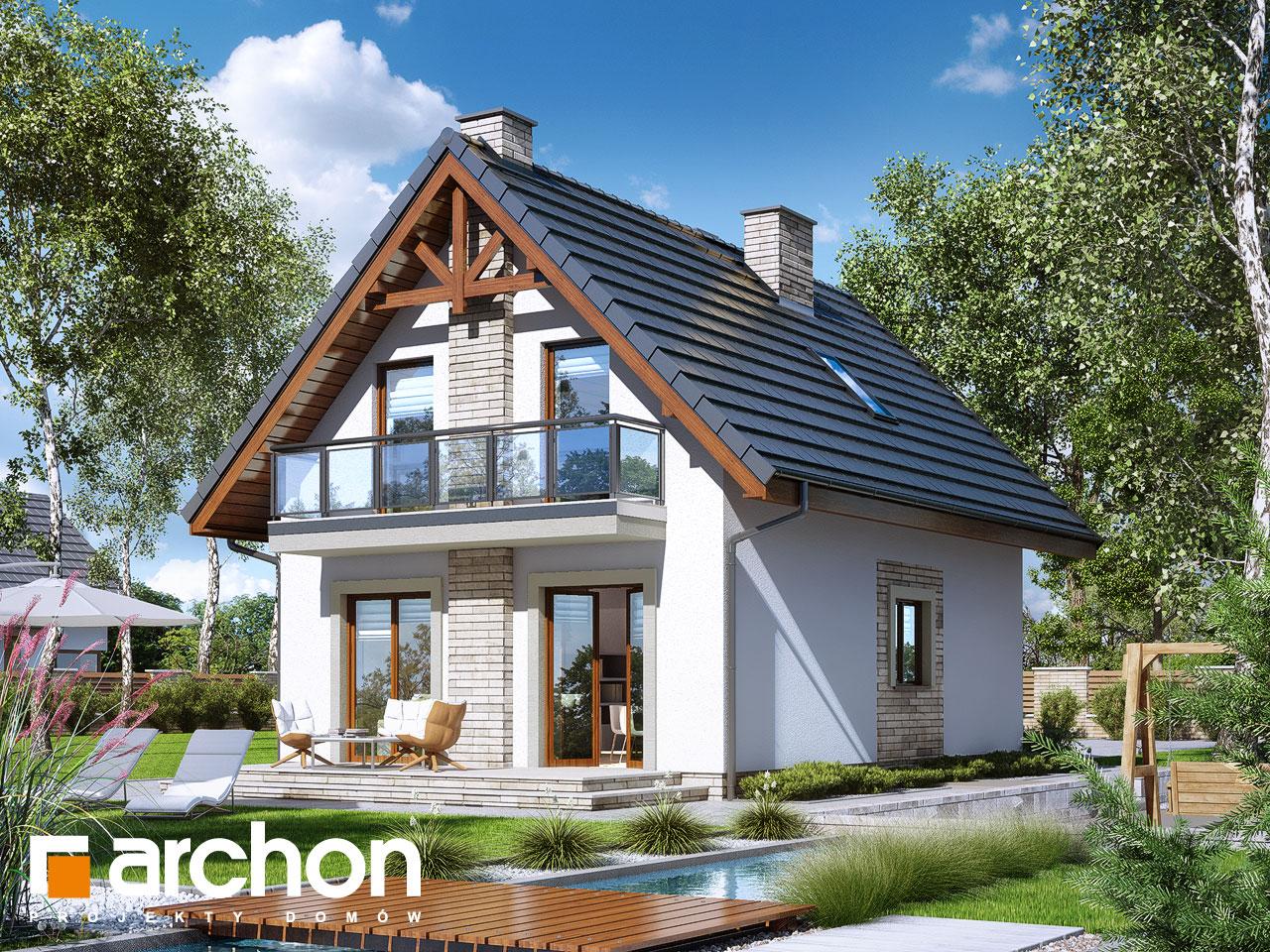 Проект будинку ARCHON+ Будинок в сон-траві (А) Вид 2