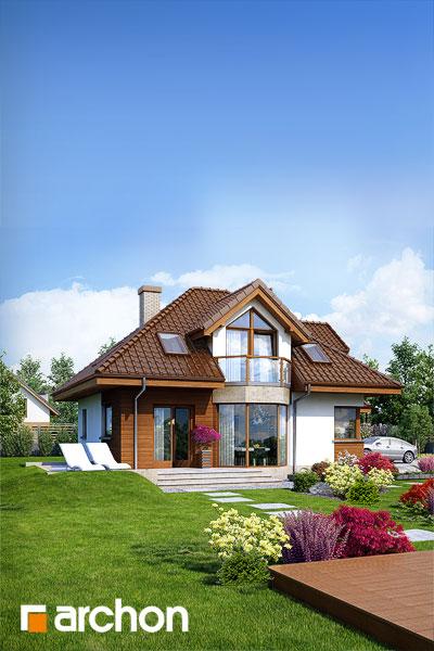 Проект будинку ARCHON+ Будинок в руколі (H) додаткова візуалізація