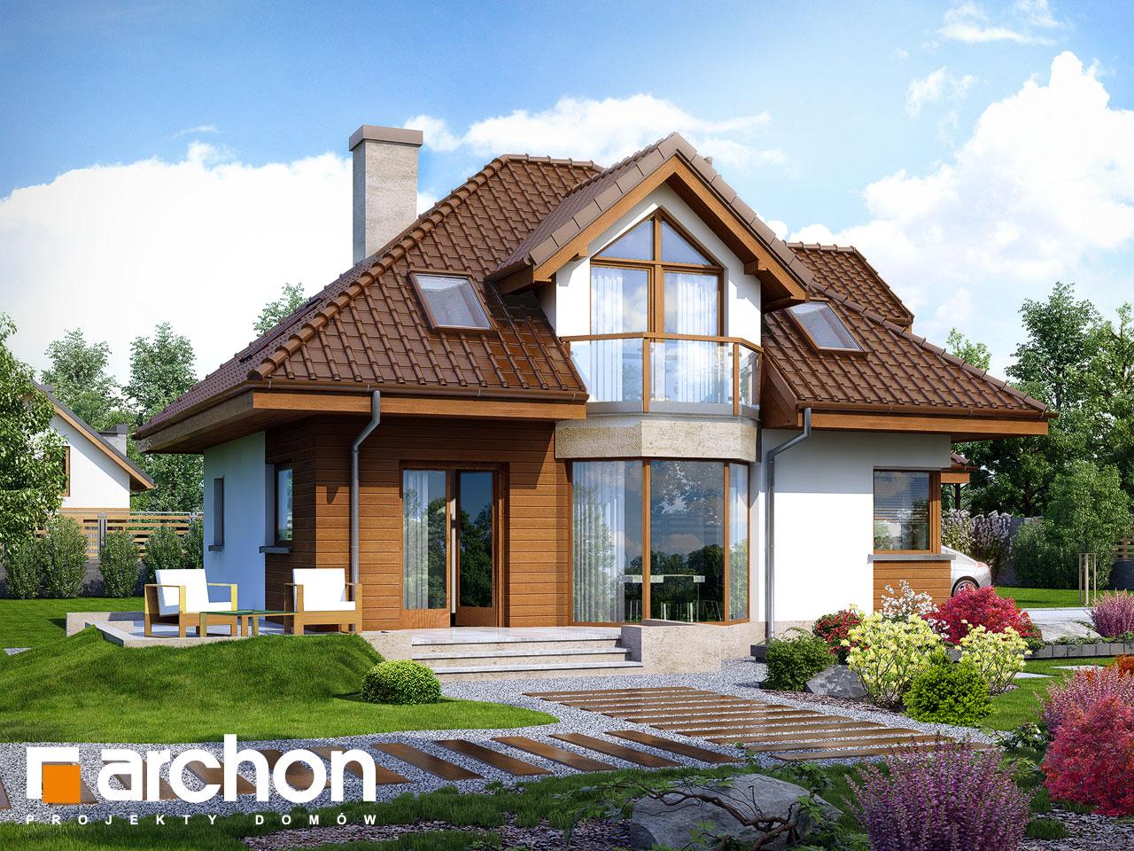 Проект будинку ARCHON+ Будинок в руколі (H) Вид 2