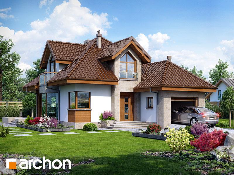 Проект будинку ARCHON+ Будинок в руколі (H) Вид 1