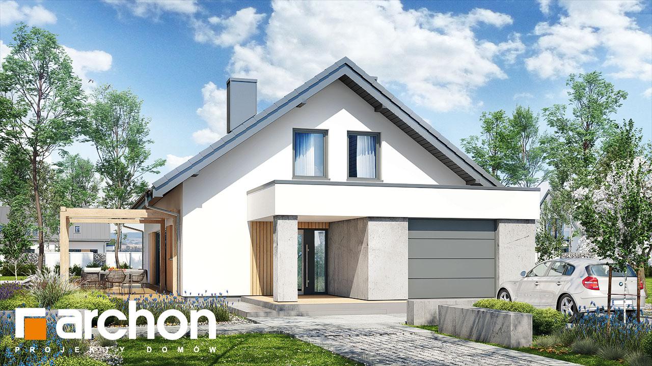 Проект будинку ARCHON+ Будинок в бетуліях Вид 2